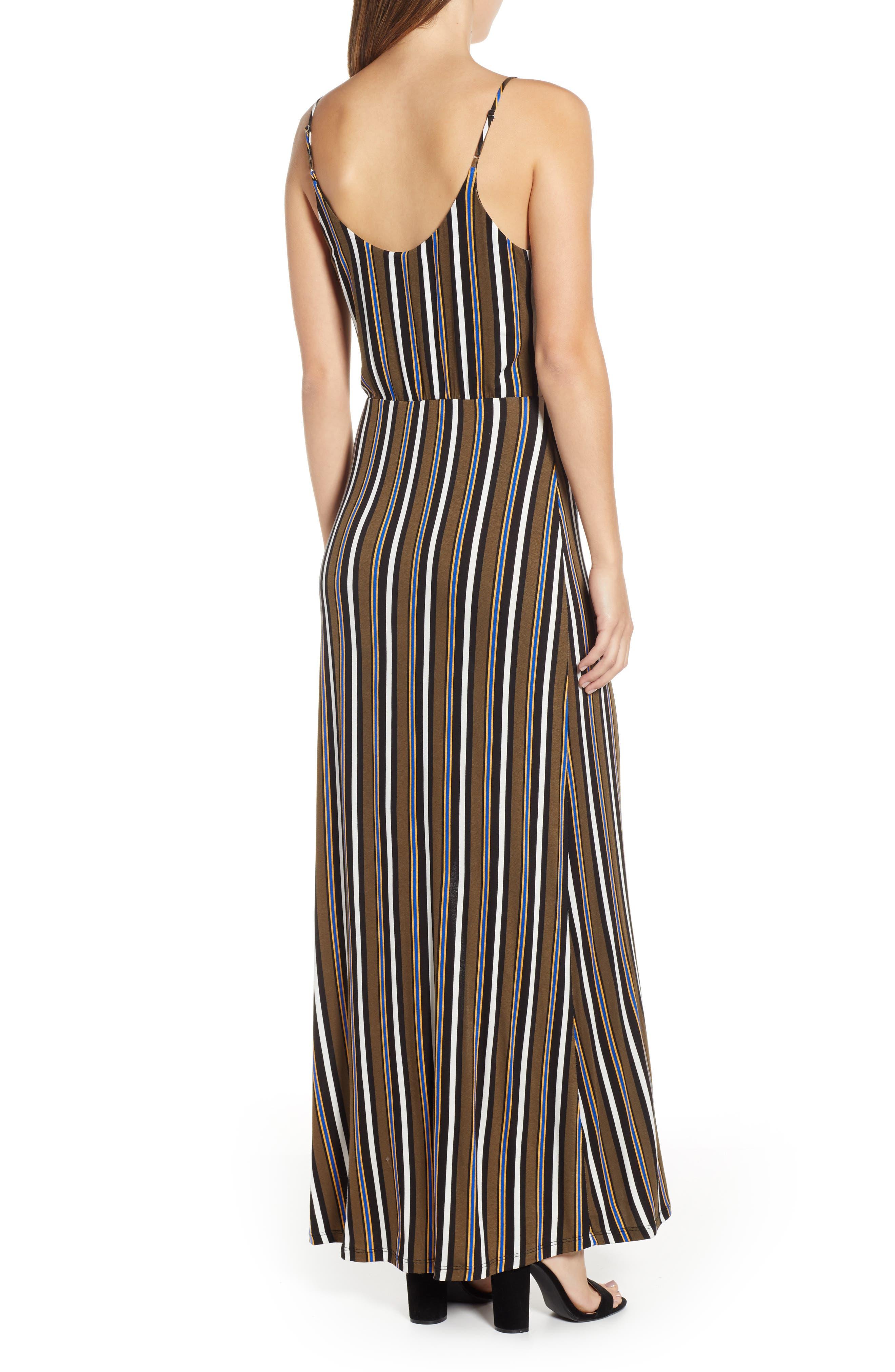 ,                             Surplice Neck Knit Maxi Dress,                             Alternate thumbnail 15, color,                             300