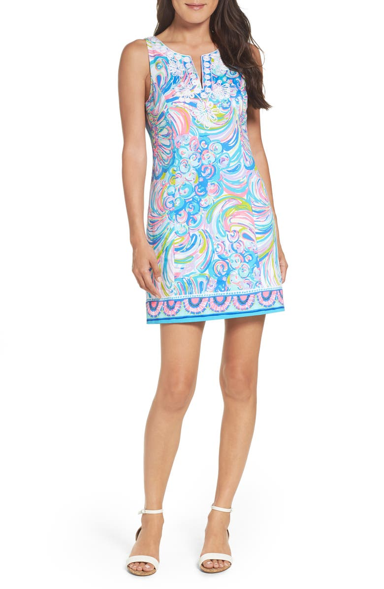 LILLY PULITZER<SUP>®</SUP> Gabby Shift Dress, Main, color, 699