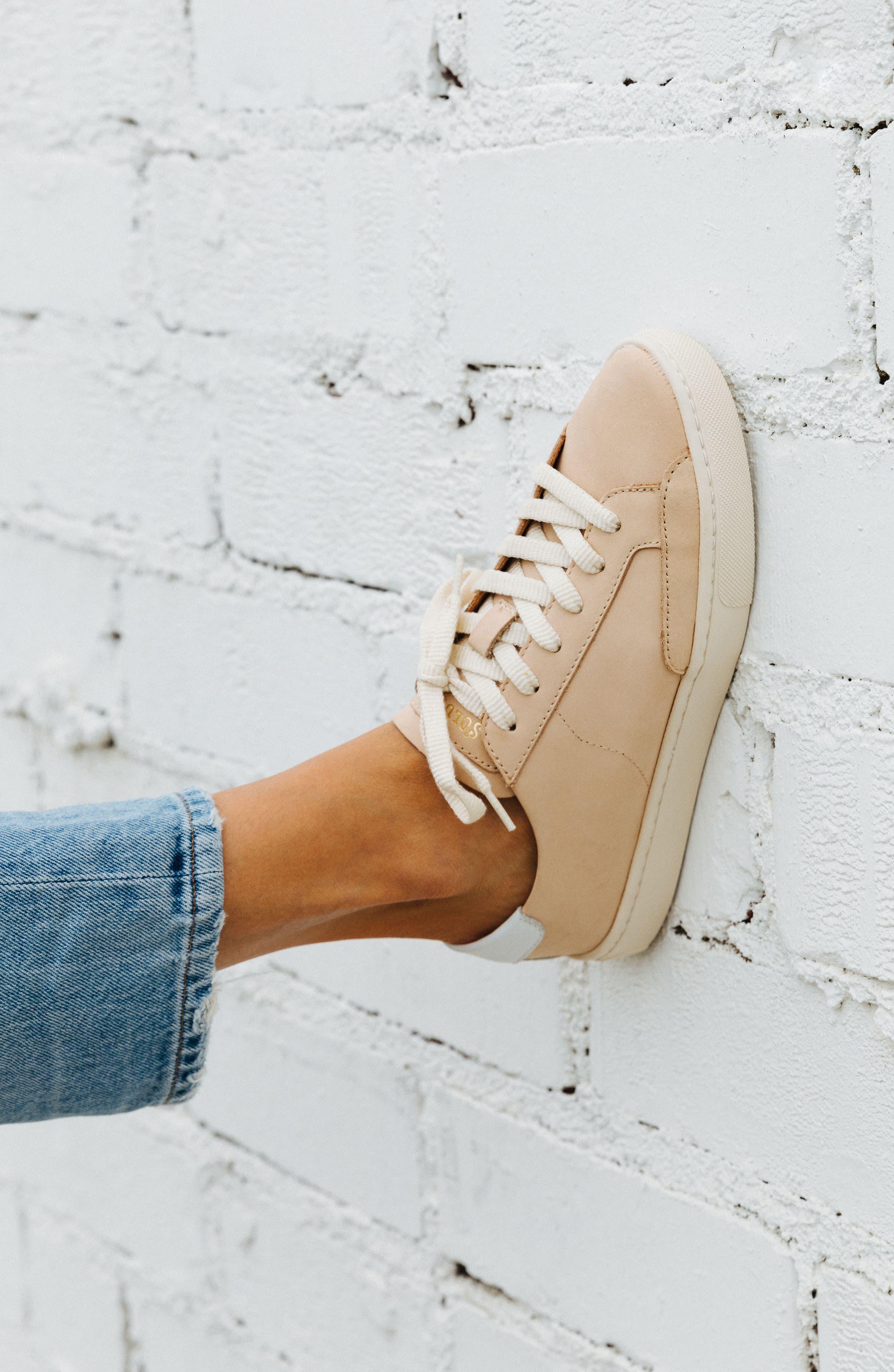,                             Ibiza Sneaker,                             Alternate thumbnail 8, color,                             NUDE
