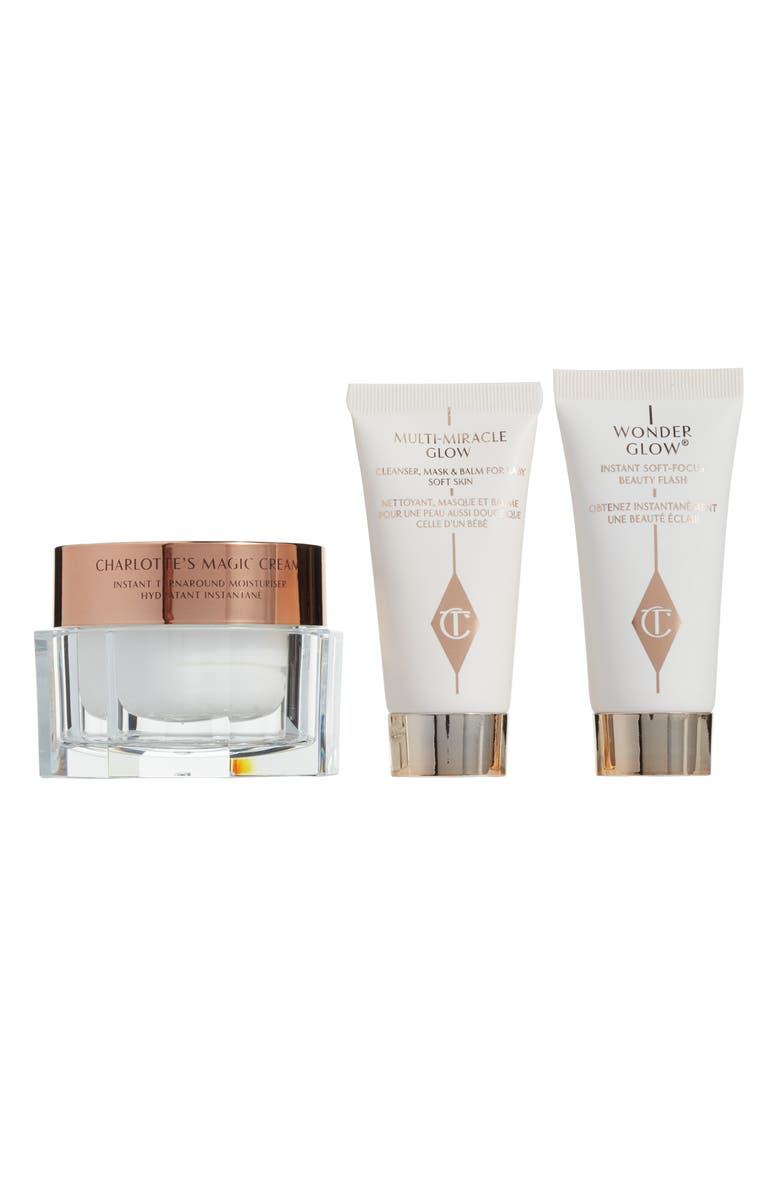 CHARLOTTE TILBURY Magic Cream Skin Set, Main, color, NO COLOR