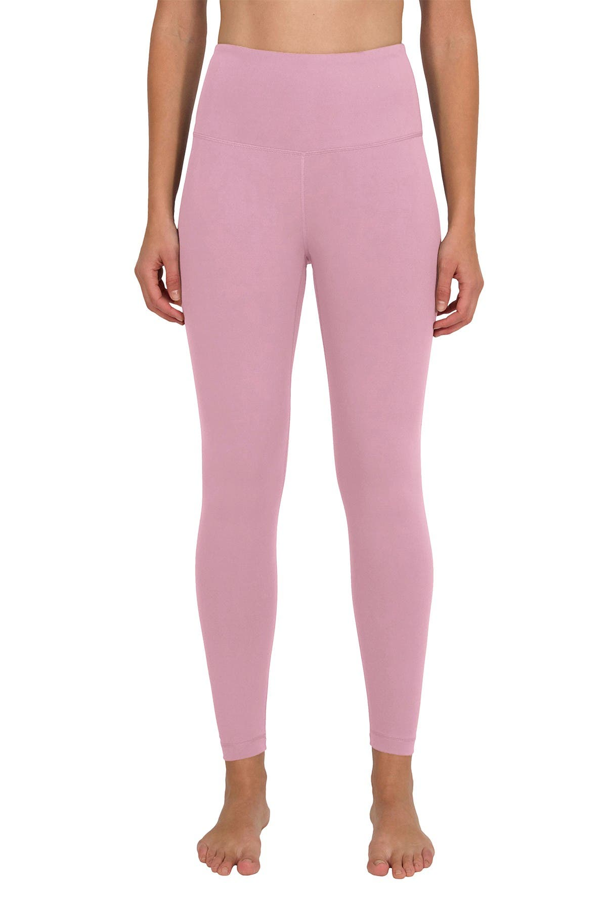 Image of 90 Degree By Reflex Nude Tech High Waist Ankle Leggings