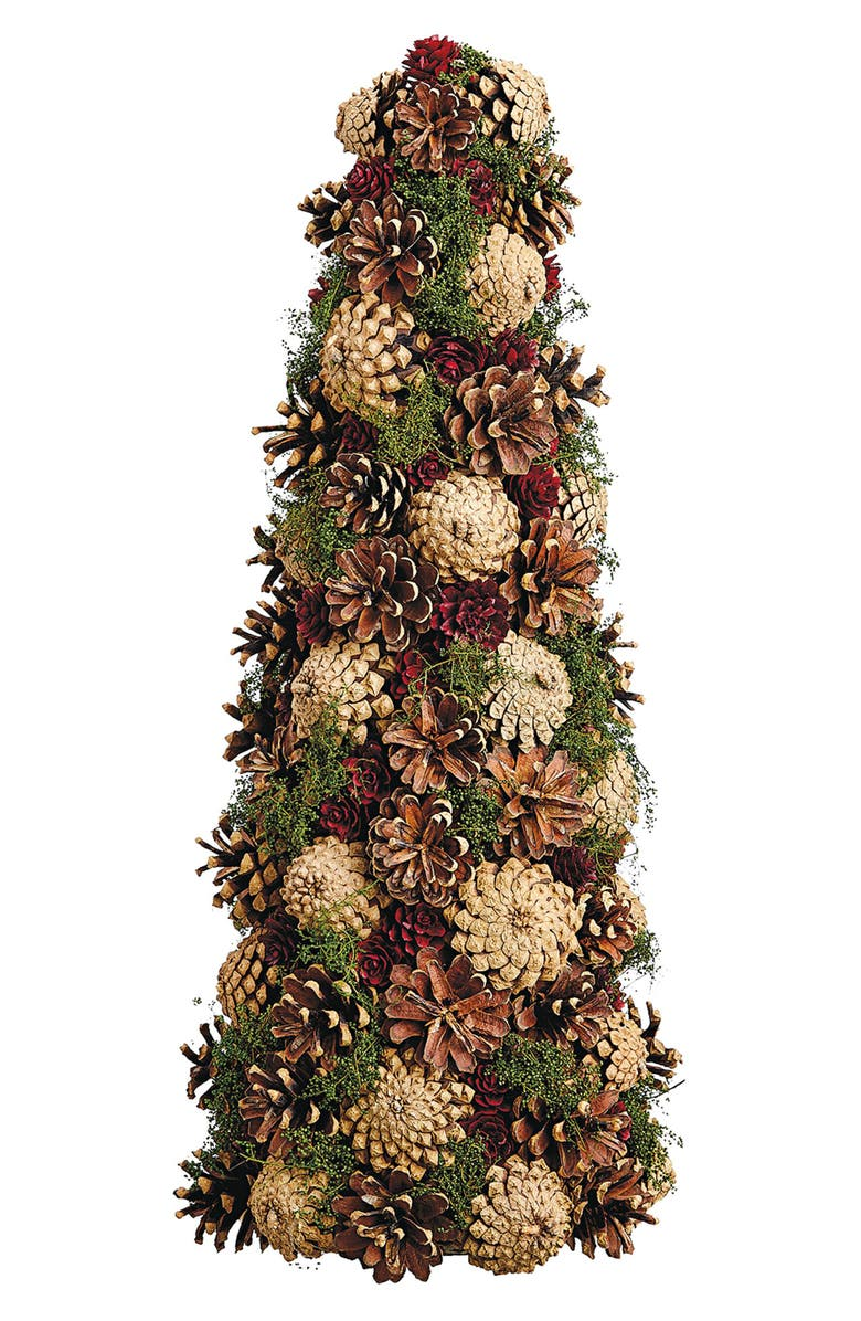 Pinecone Topiary Tree Decoration by Allstate
