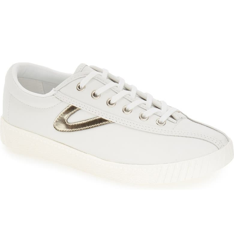 TRETORN 'Nylite2 Plus' Sneaker, Main, color, WHITE/ GOLD