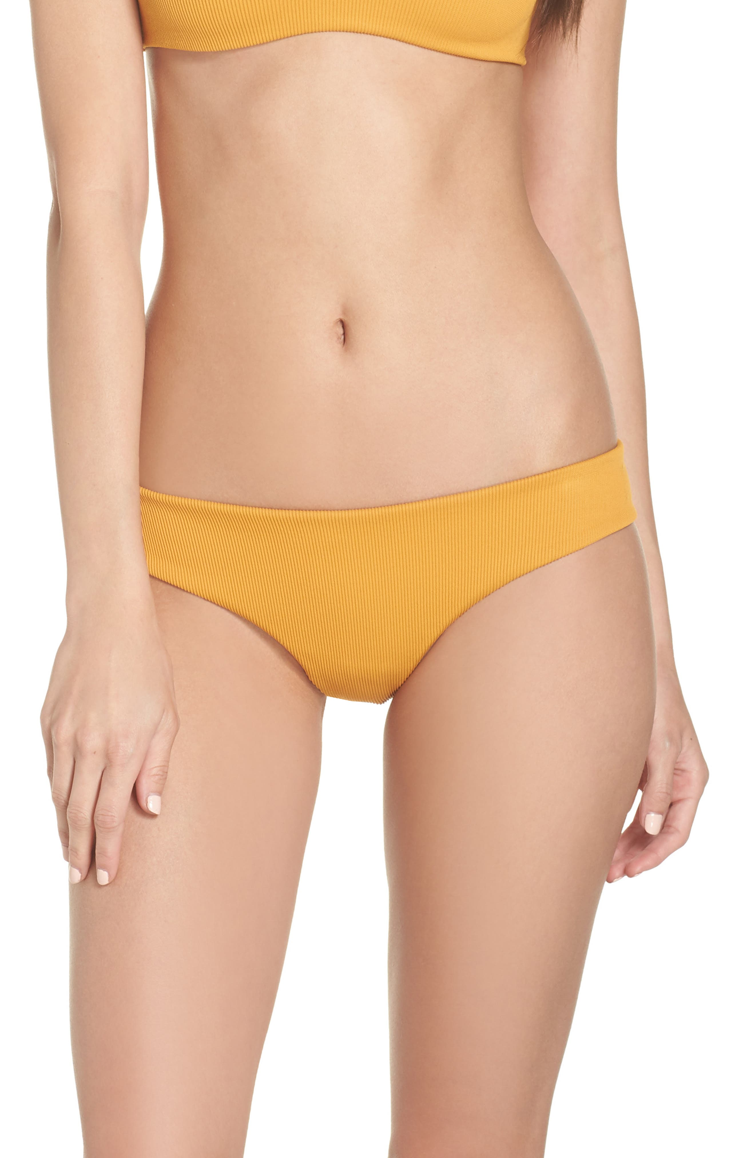 Boys + Arrows Charlie Bikini Bottoms, Yellow