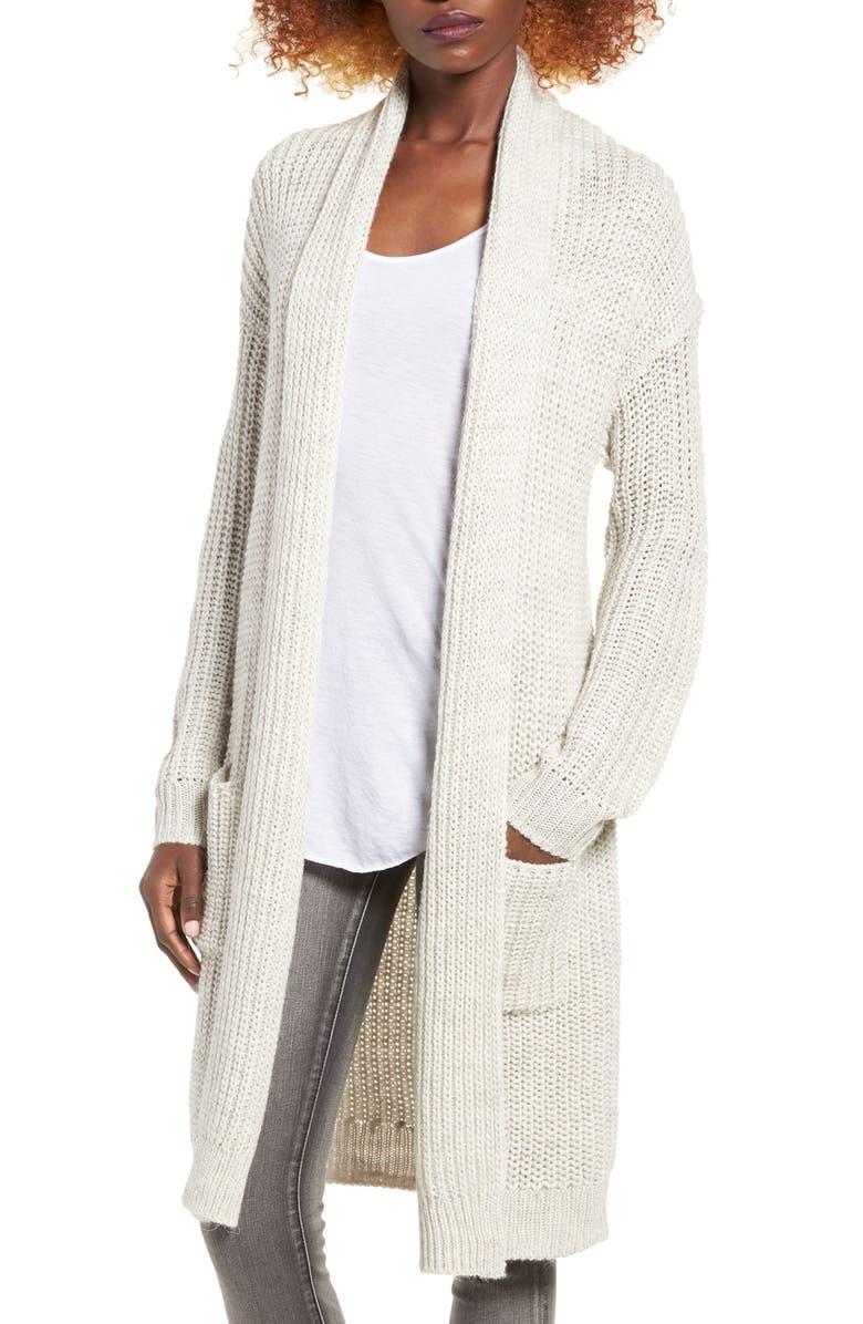 BP. Shawl Collar Knit Cardigan, Main, color, 050
