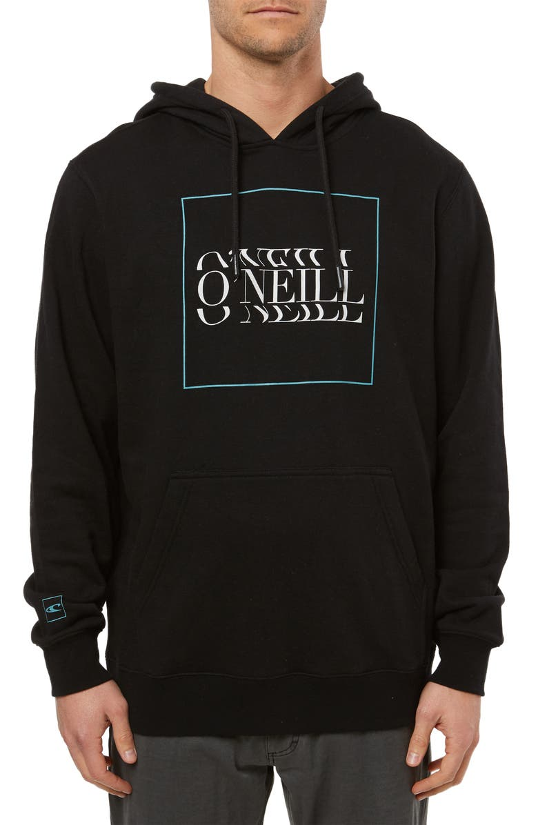 O'NEILL Fusion Graphic Hoodie, Main, color, BLACK