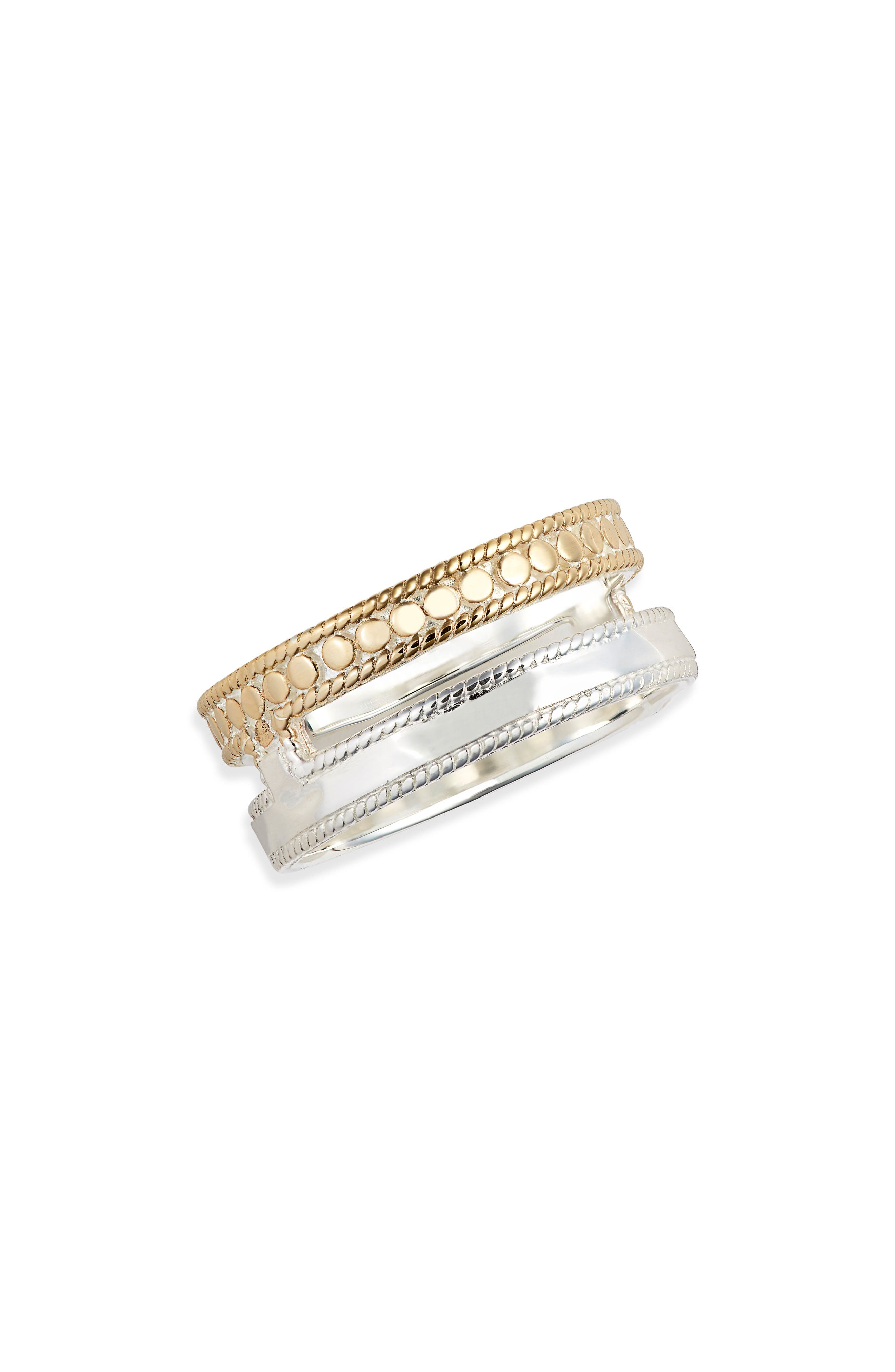 Two-Tone Stack Ring