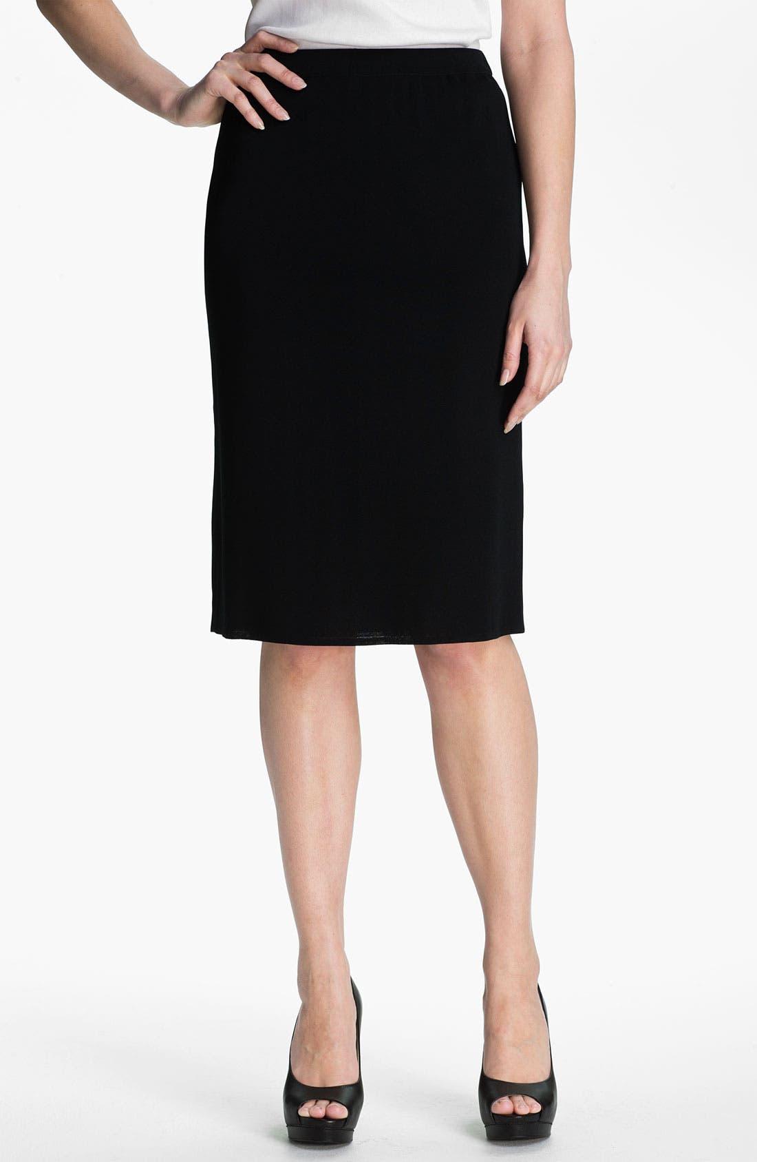 Ming Wang Straight Skirt