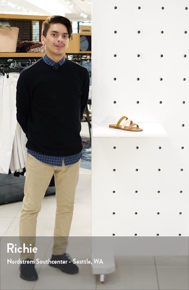 The Ilana Colorblock Slide Sandal, sales video thumbnail