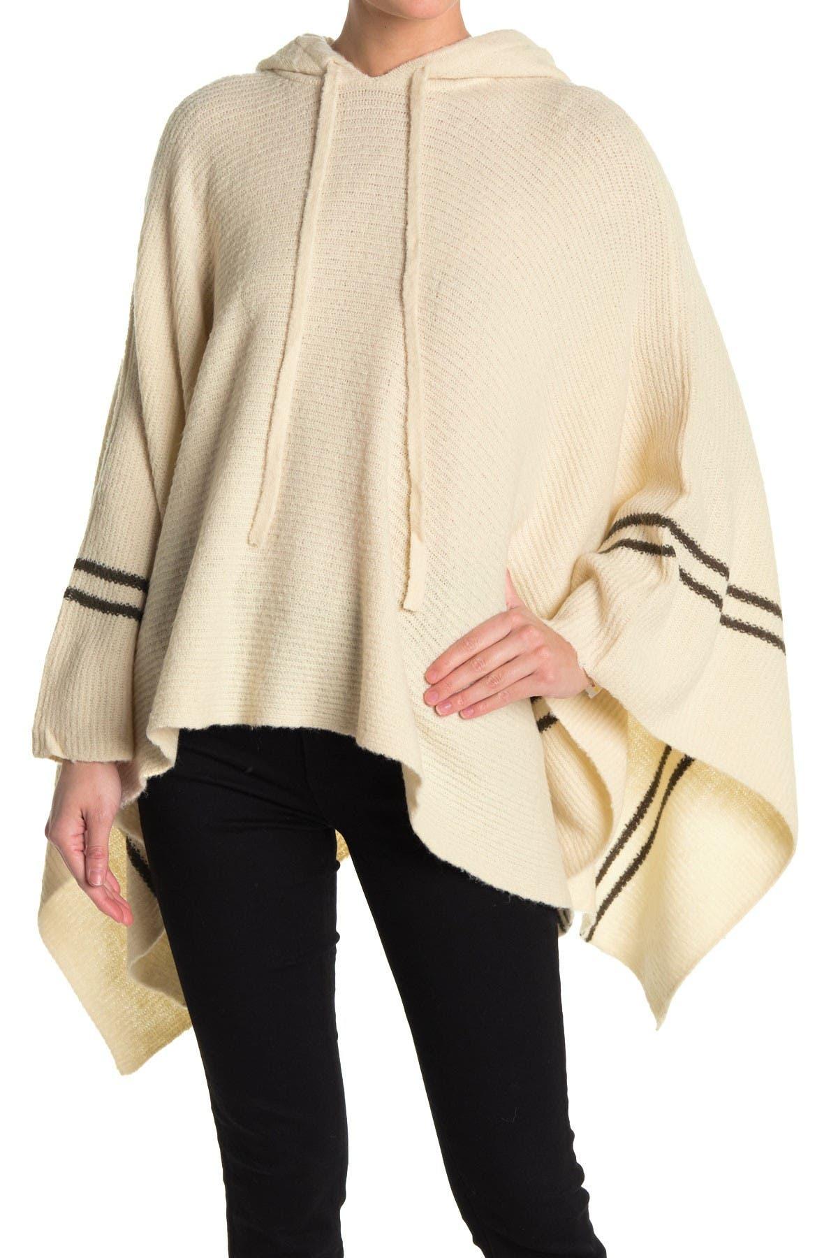 Image of Modern Designer Side Stripe Mossy Pullover