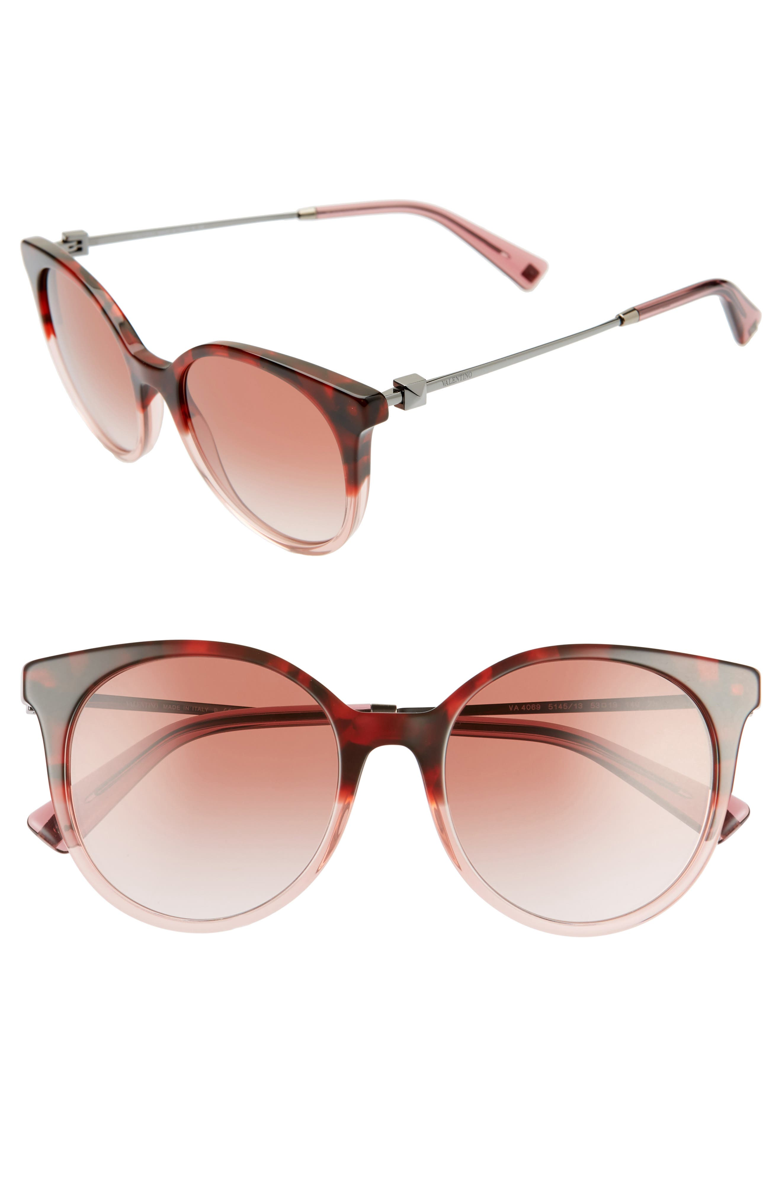 Valentino | Rockstud 53mm Gradient Cat Eye Sunglasses | Nordstrom Rack