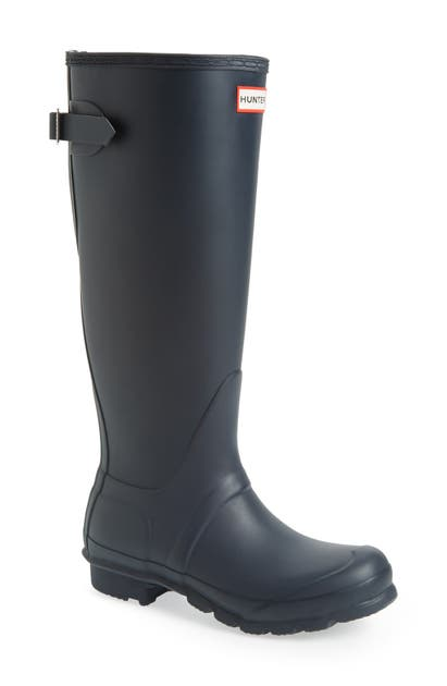 Hunter Boots ORIGINAL TALL ADJUSTABLE BACK WATERPROOF RAIN BOOT