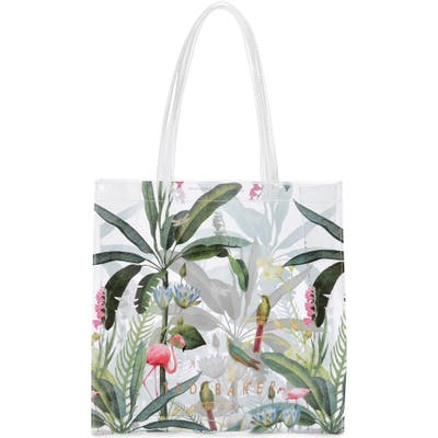 Ted Baker London Large Pistachio Print Icon Tote - Pink
