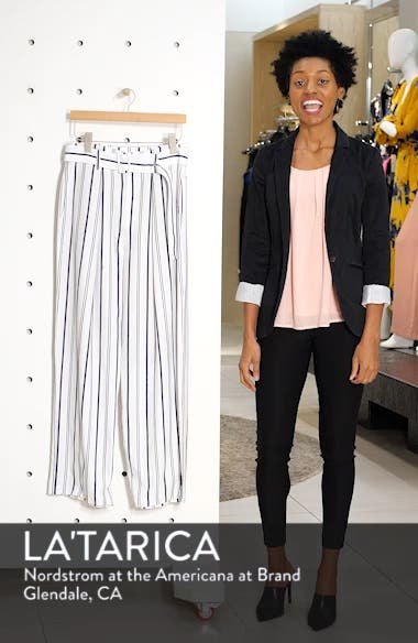 Belted Stripe Pants, sales video thumbnail