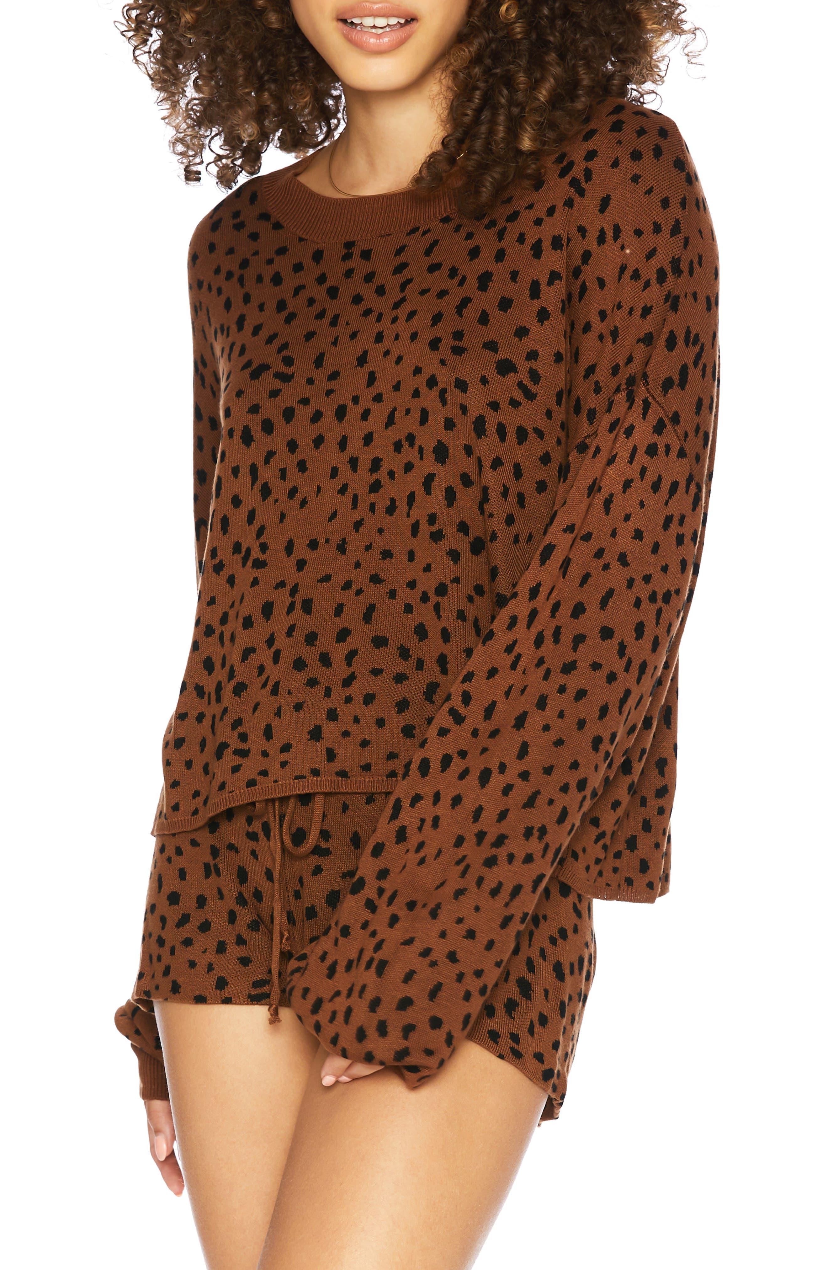 Ava Spot Sweater