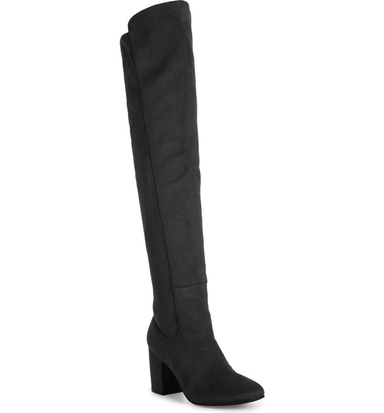TREASURE & BOND Lynx Stretch Over the Knee Boot, Main, color, 005