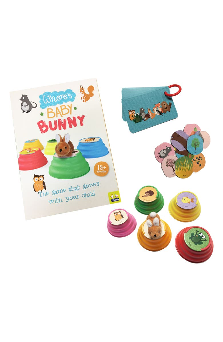 ZIPPY FLYER Where's Baby Bunny Game, Main, color, 800