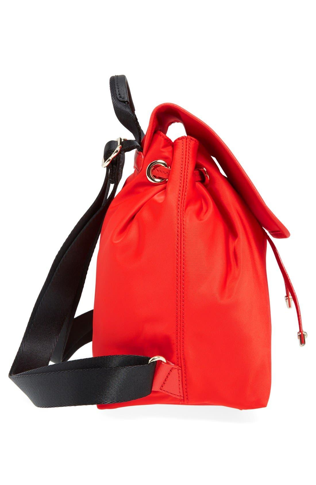 ,                             'molly' nylon backpack,                             Alternate thumbnail 6, color,                             600