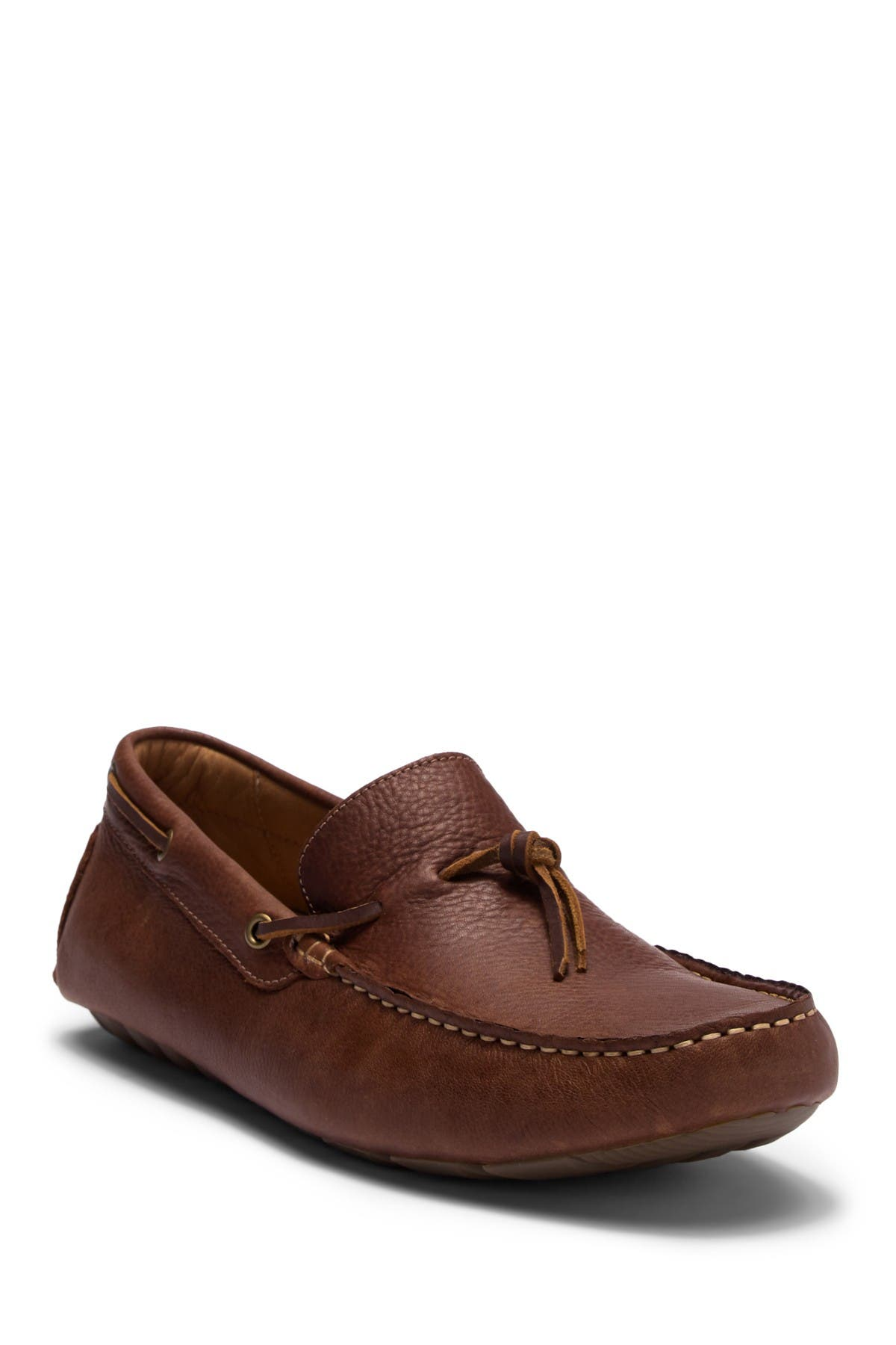 Image of Lucky Brand Wagner Leather Driver Loafer