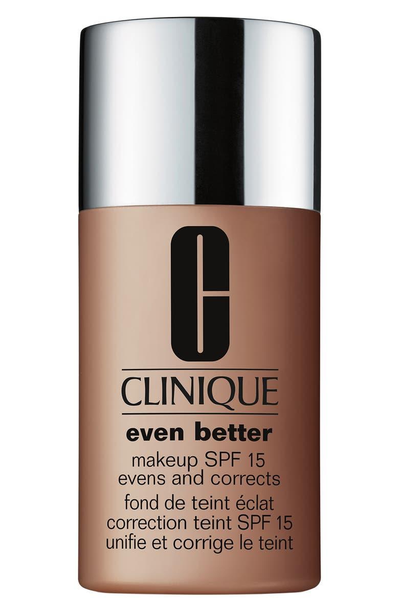 CLINIQUE Even Better Makeup Foundation SPF 15, Main, color, 117 CAROB