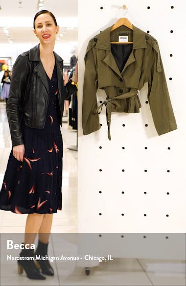 Trenna Belted Jacket, sales video thumbnail
