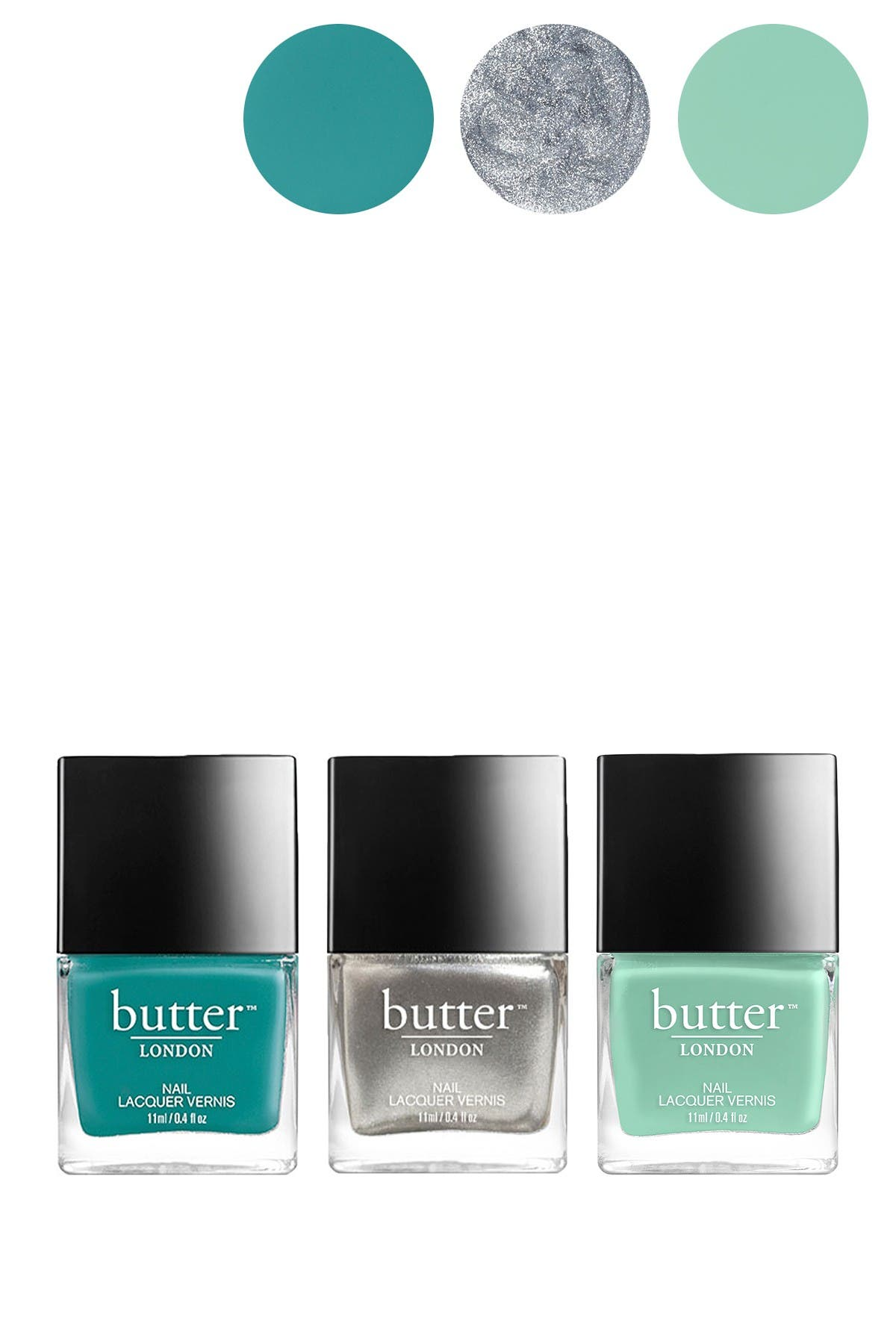 Image of butter LONDON 3-Piece Nail Lacquer & Mirror Set