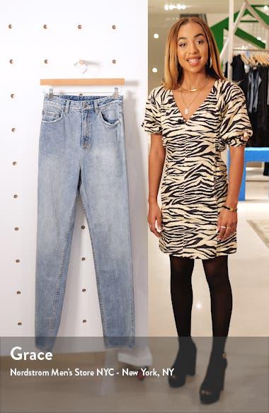 Playback Karma High Waist Straight Leg Jeans, sales video thumbnail