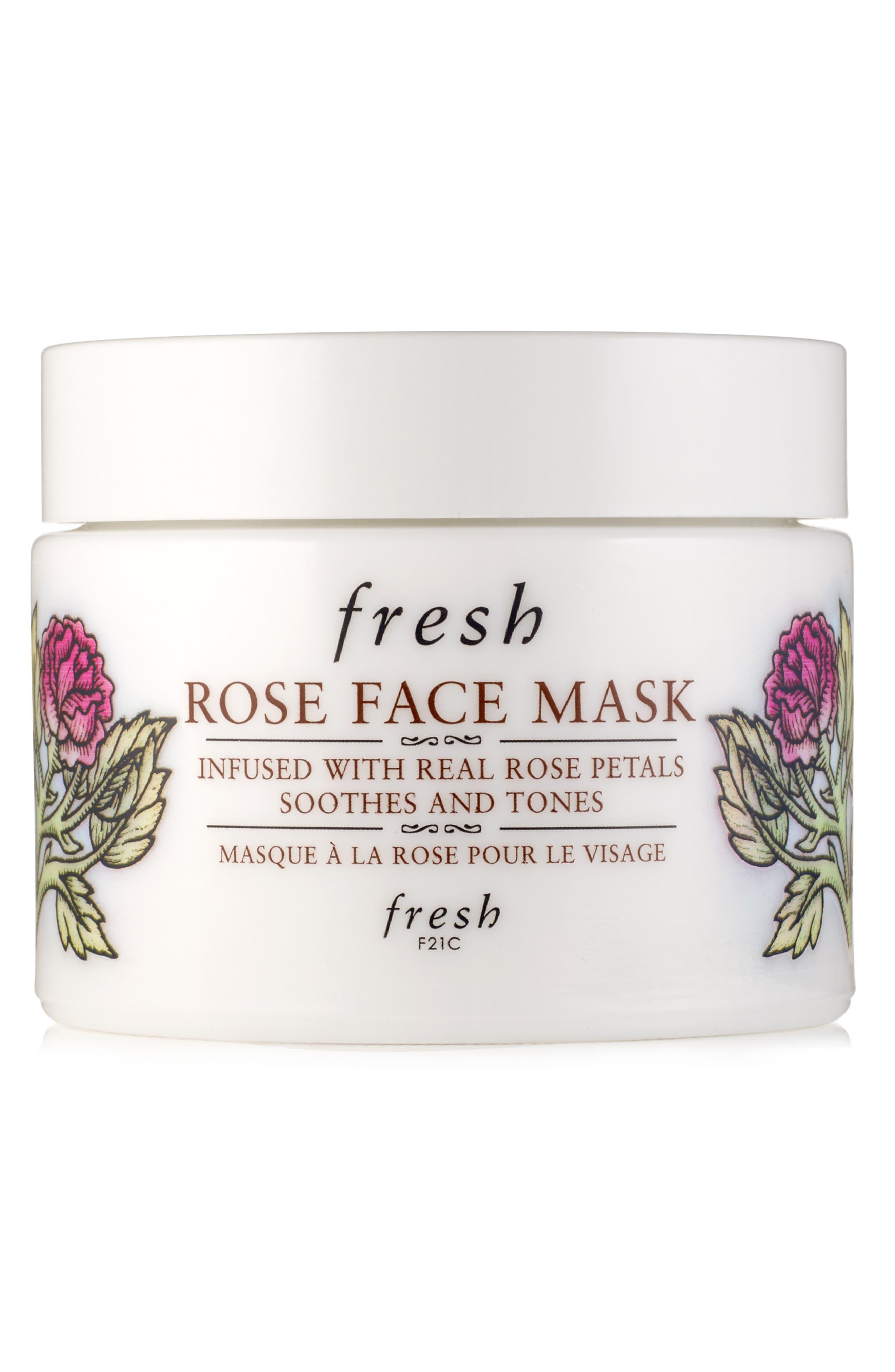 Rose Face Mask | Nordstrom