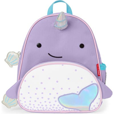 Skip Hop Zoo Narwhal Backpack - Purple