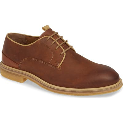 J & m 1850 Wagner Plain Toe Derby, Brown