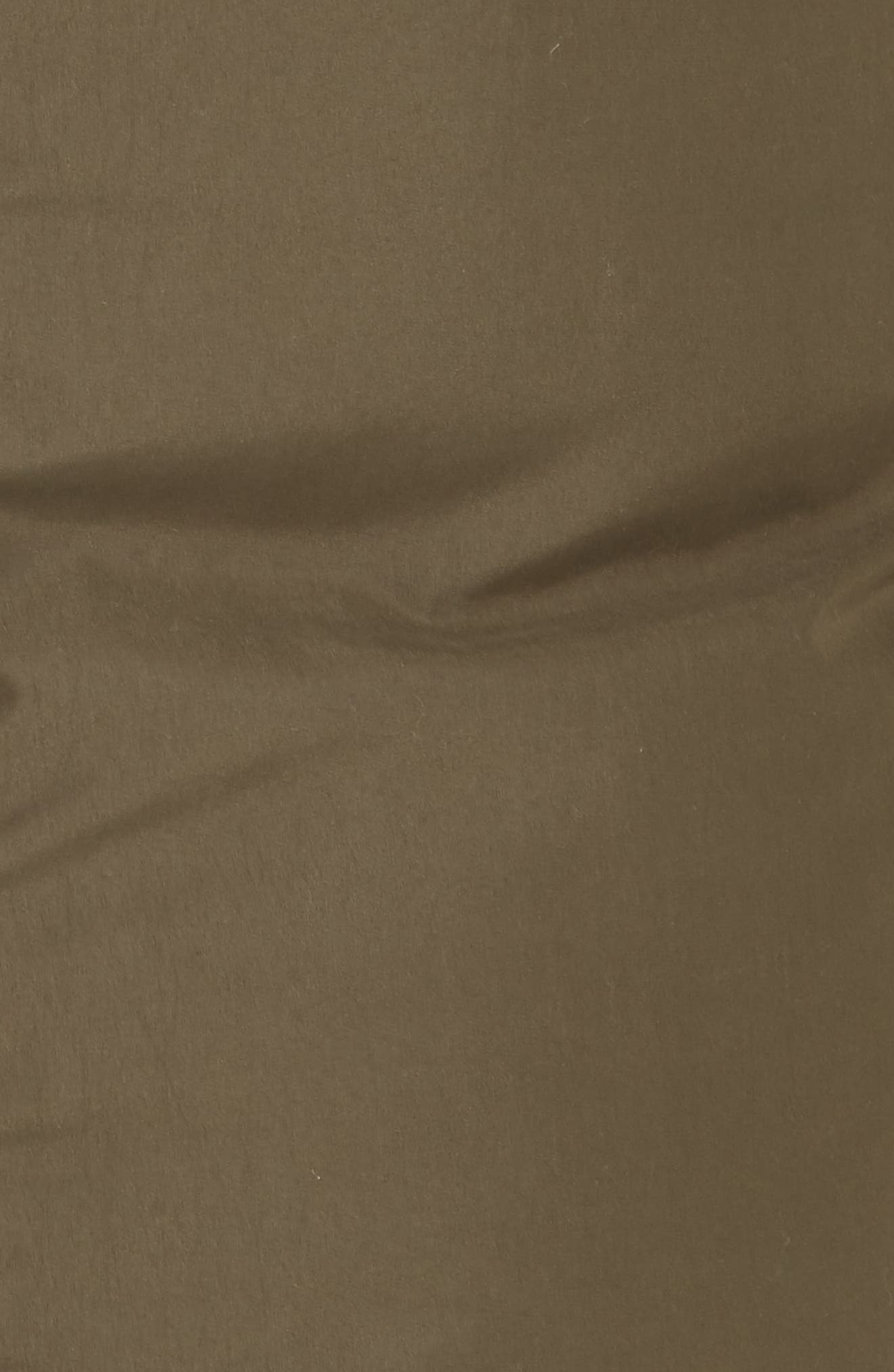 ,                             Genuine Fox Fur Trim Down Puffer Coat,                             Alternate thumbnail 6, color,                             300