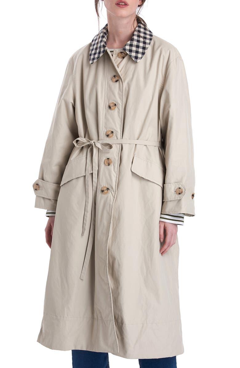 BARBOUR x ALEXACHUNG Glenda Casual Jacket, Main, color, 270