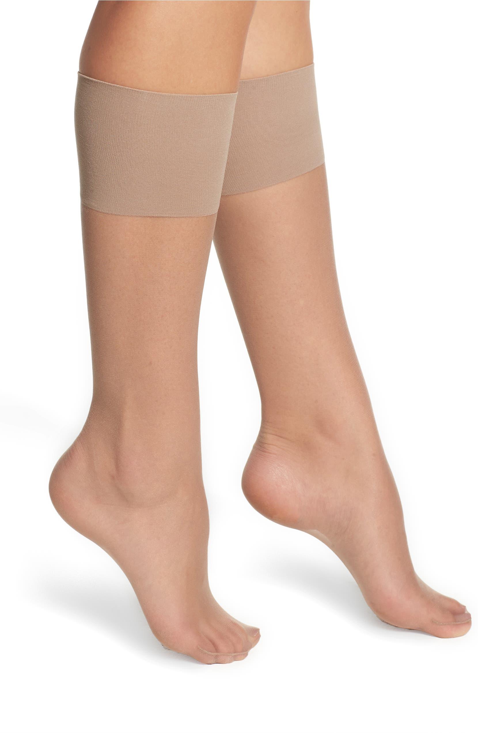 75847064d Nordstrom 2-Pack Naked Sheer Knee Highs (3 for  36)