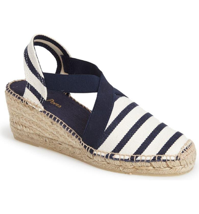 a47d15a9827 'Tarbes' Espadrille Wedge Sandal