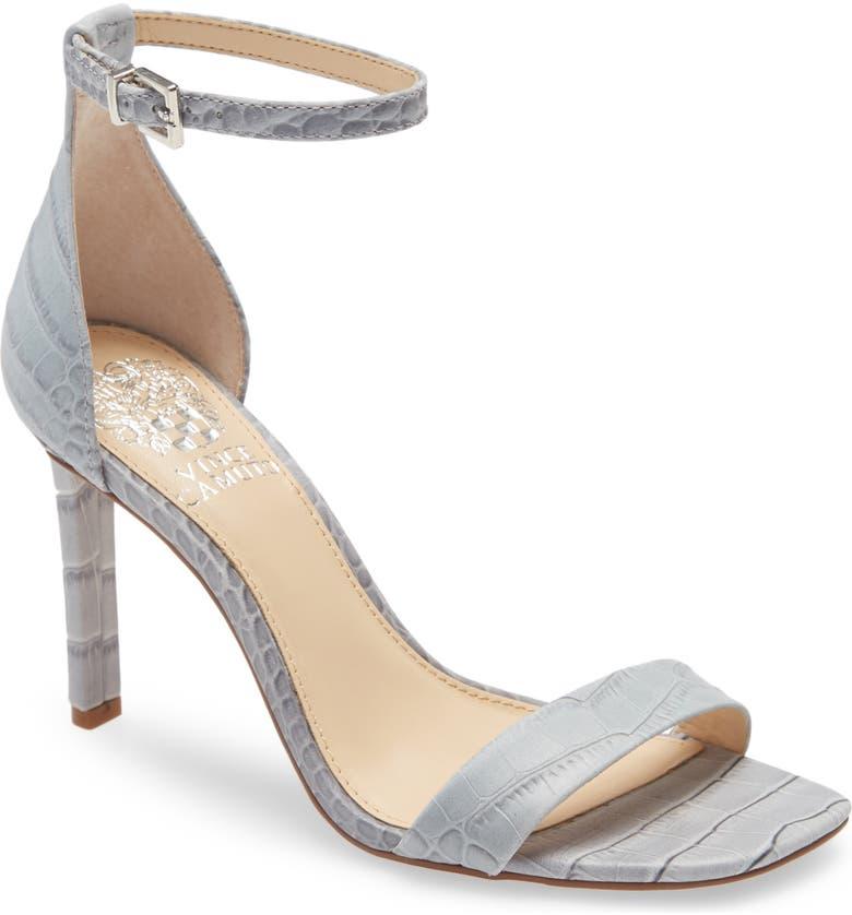VINCE CAMUTO Lauralie Ankle Strap Sandal, Main, color, PALE BLUE