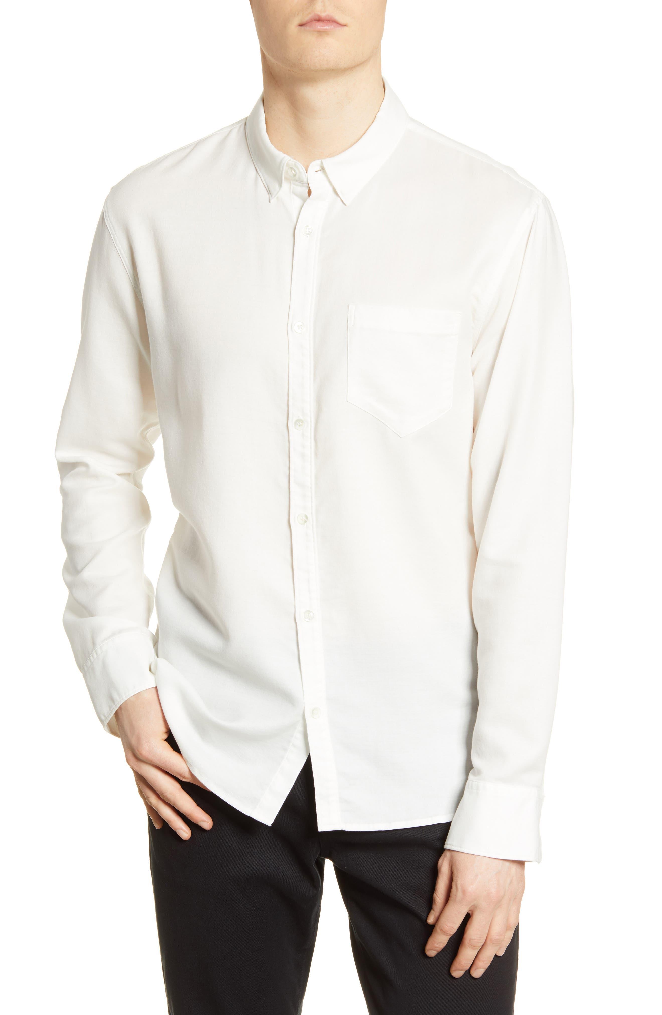 Cori Solid Button-Up Shirt