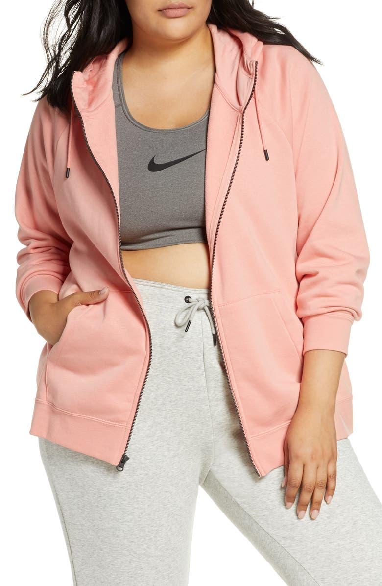 NIKE Sportswear Essential Full Zip Fleece Hoodie, Main, color, 666