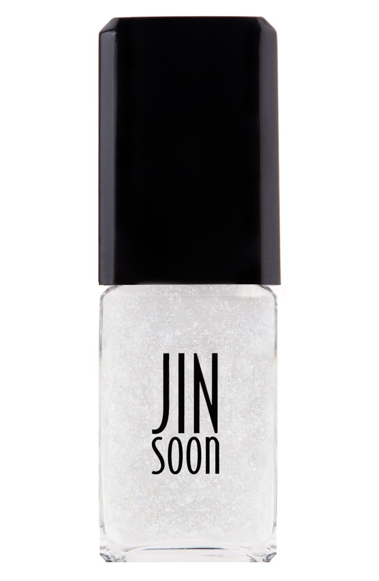 JINSOON 'Polka White' Nail Lacquer, Main, color, POLKA WHITE