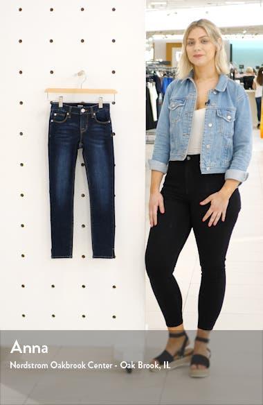 Teagan Convertible Crop Skinny Jeans, sales video thumbnail