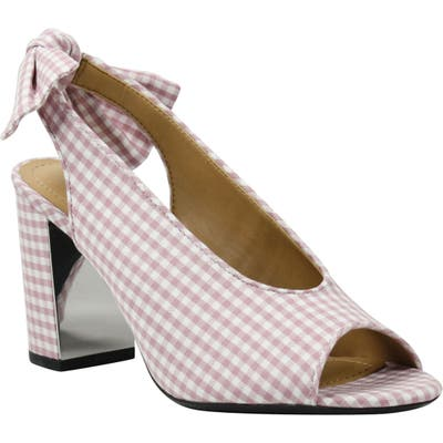 J. Renee Brietta Bow Slingback Sandal - Pink