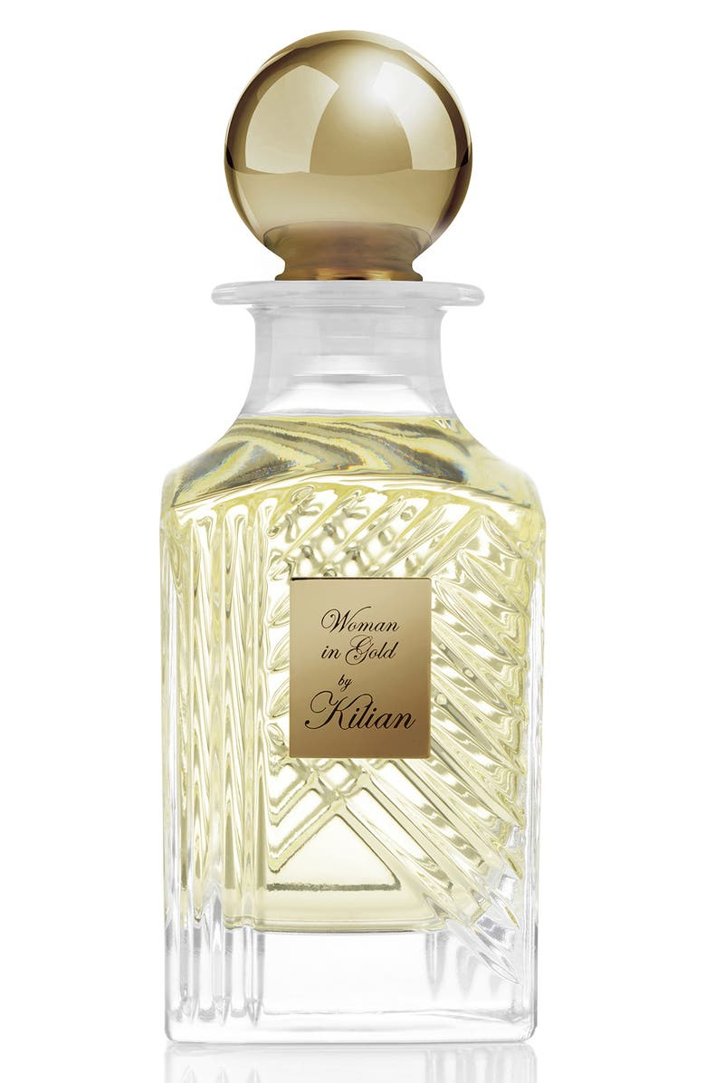 KILIAN Woman in Gold Collector's Edition Mini Carafe Perfume, Main, color, NO COLOR
