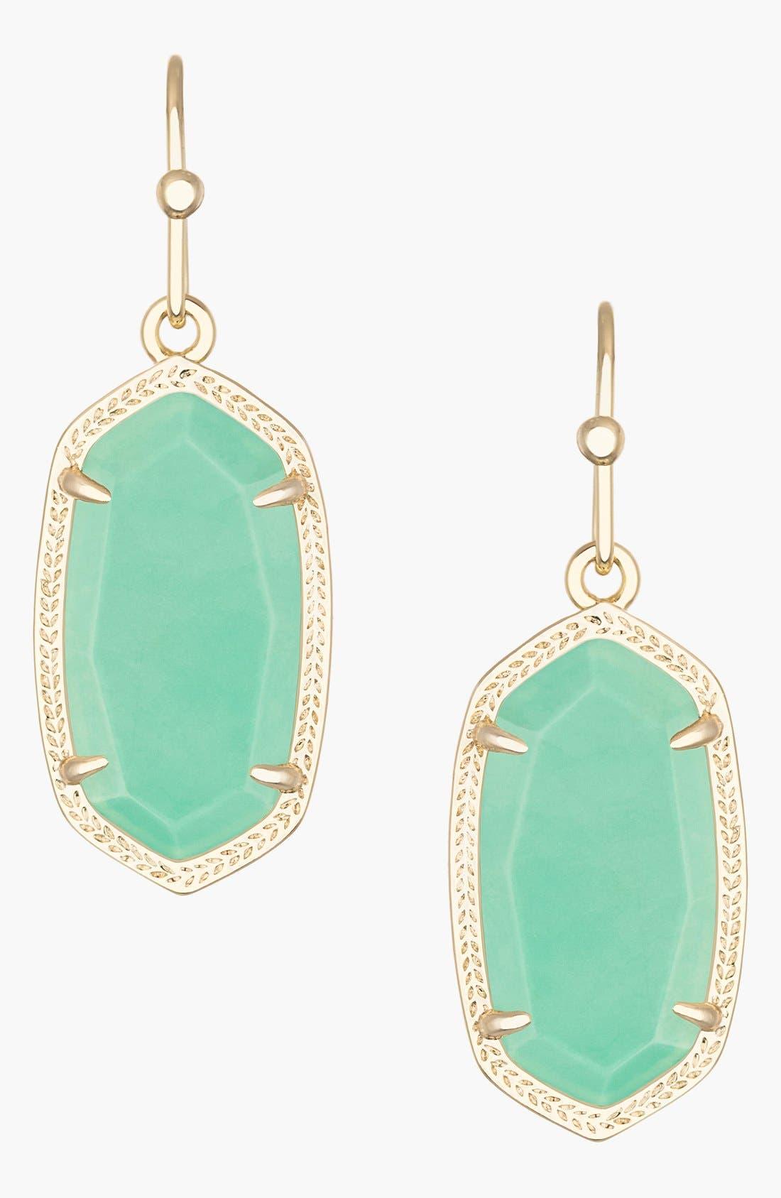 ,                             Dani Stone Drop Earrings,                             Main thumbnail 28, color,                             300