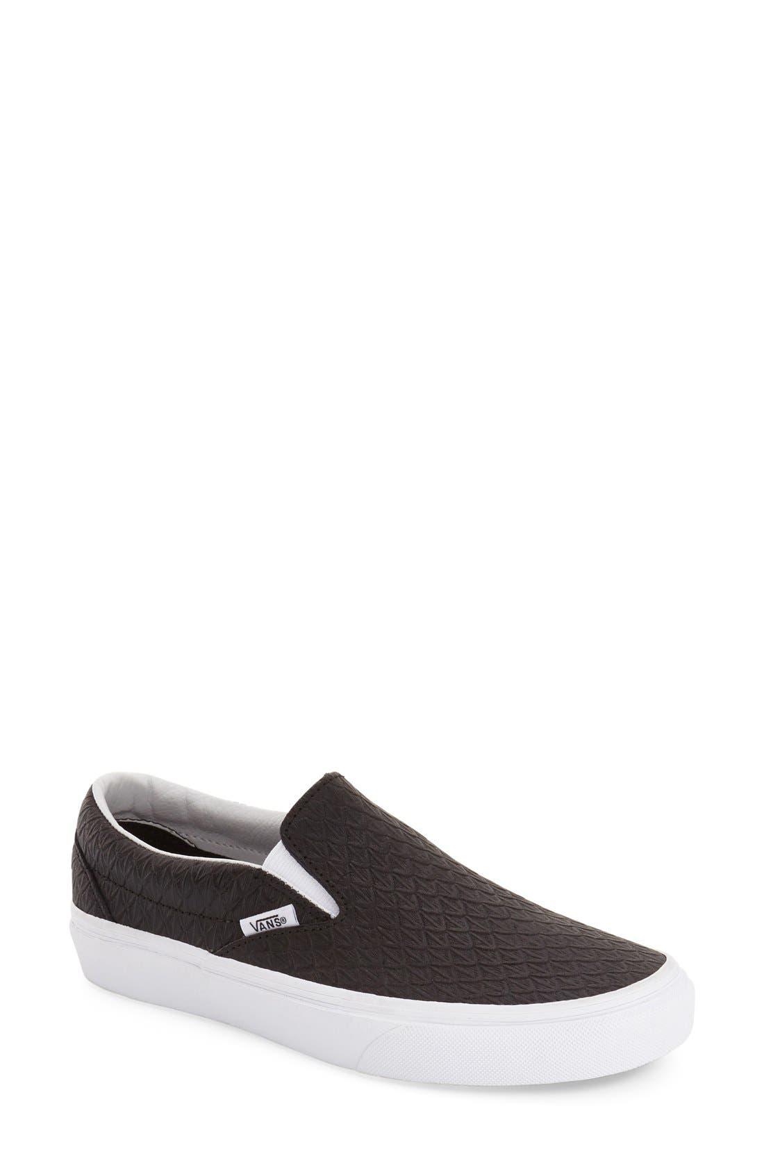 ,                             Classic Slip-On Sneaker,                             Main thumbnail 241, color,                             002