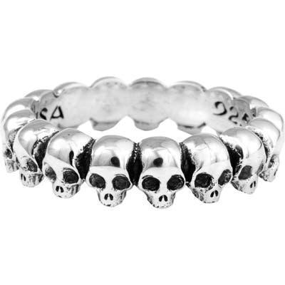 King Baby Skull Ring