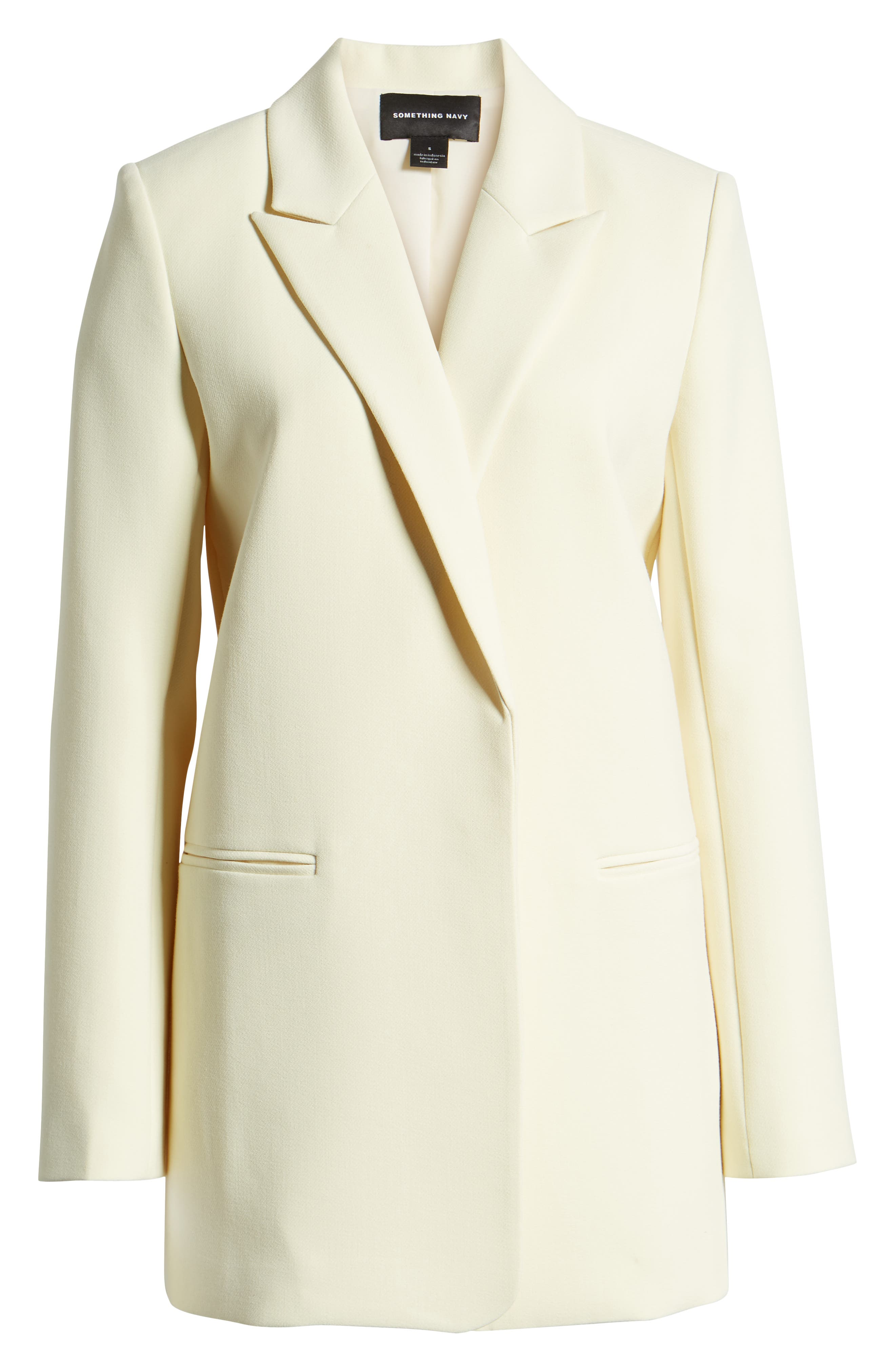 ,                             Easy Clean Blazer,                             Alternate thumbnail 8, color,                             YELLOW FROST