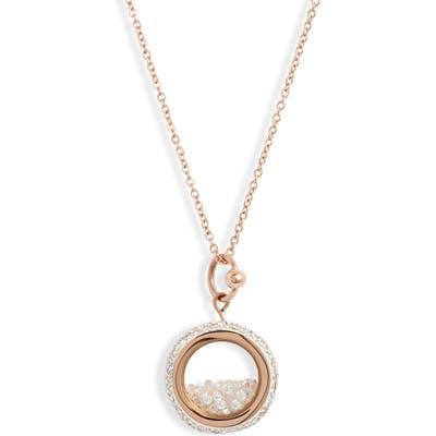 Knotty Crystal Vessel Pendant Necklace