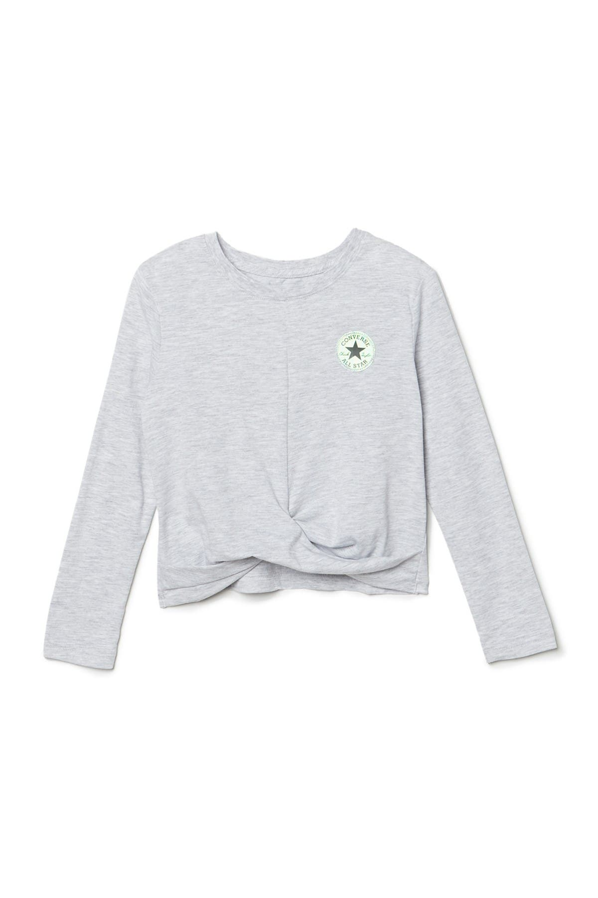 Image of Converse Long Sleeve Twist Knot Top