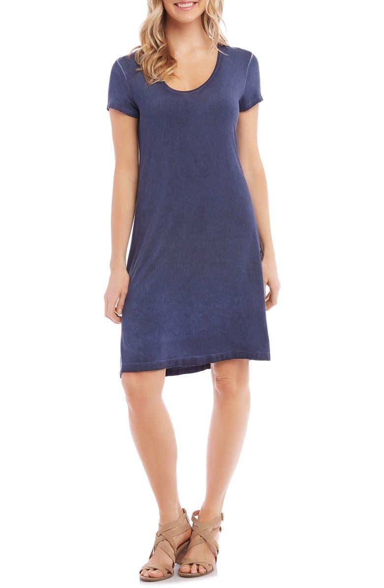 KAREN KANE Olivia Vintage Wash T-Shirt Dress, Main, color, 410