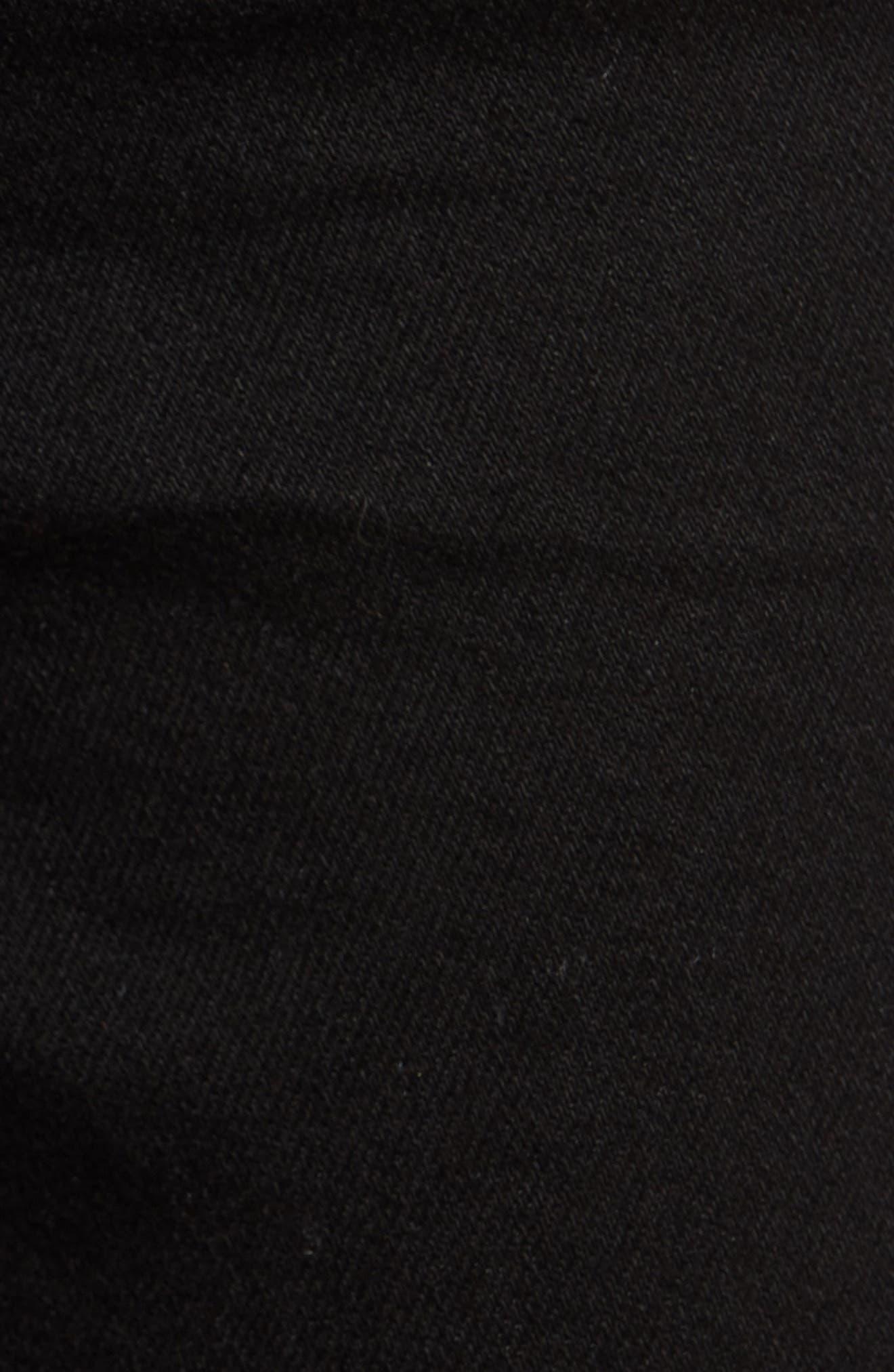 ,                             Ami High Waist Stretch Super Skinny Jeans,                             Alternate thumbnail 6, color,                             BLACK
