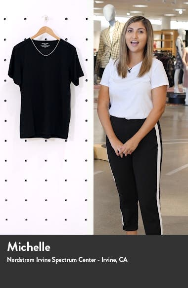 Peruvian Pima Cotton V-Neck T-Shirt, sales video thumbnail